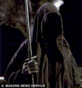 sosok nazgul dalam Lord Of The Ring