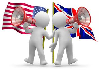 British English American English Sama Sama Bahasa Inggris