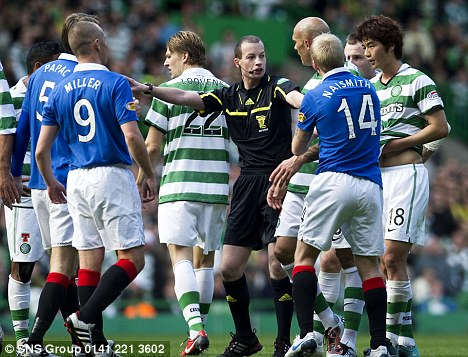 Suasana Old Firm Derby