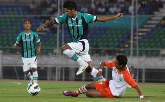 Yangoon United vs Persibo ( 26th February 2013 )